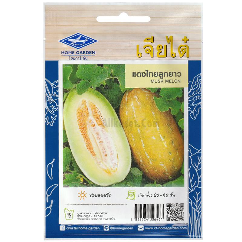 รูปเมล็ดแตงไทยลูกยาวซองใหญ่