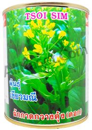 ผักกวางตุ้งดอกเขียวมณี