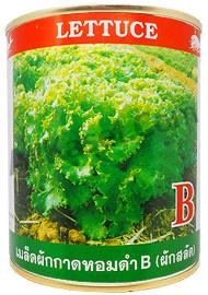 ผักกาดหอมดำ B (ผักสลัด)