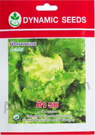 เมล็ดผักกาดหอม ดิว 58